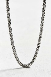 Urban Outfitters Flat Square Chain Silver