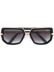 Cazal Oversized Sunglasses Black