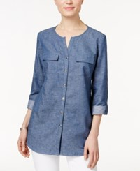 Jm Collection Chambray Shirt Only At Macy's