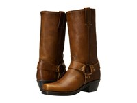 Frye Harness 12R Cognac Washed Oiled Vintage Women's Pull On Boots Brown