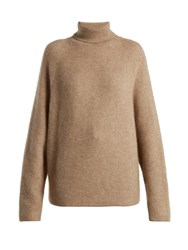 Gabriela Hearst Gurley Cashmere And Silk Blend Sweater Beige