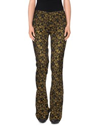 Pt01 Trousers Casual Trousers Women Yellow