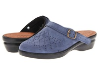 Flexus Pride Navy Nubuck Women's Clog Shoes Blue