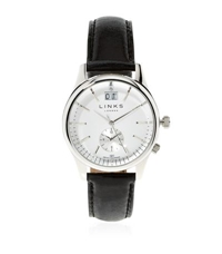 Links Of London Regent Leather Strap Watch