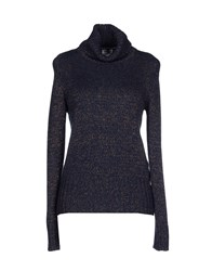 Caractere Knitwear Turtlenecks Women Dark Blue
