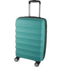 Antler Juno B1 Four Wheel Cabin Case 56Cm Teal
