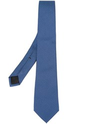 Gucci Patterned Tie Blue