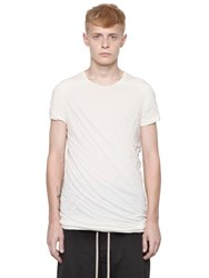 Rick Owens Drkshdw Twisted Double Cotton T Shirt