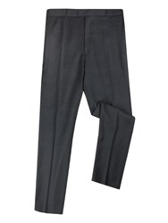 Pierre Cardin Men's Chaucer Birdseye Big Andtall Trousers Charcoal Jaspe