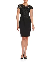T Tahari Carly Dress Black