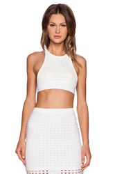 Alexander Wang Sports Bra White