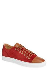 Kenneth Cole Men's New York Sport Car Sneaker Red Suede