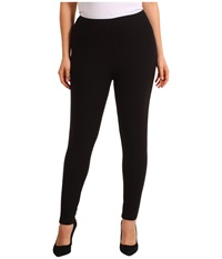 Hue Plus Size Cotton Legging Black Women's Casual Pants