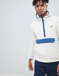 The North Face Campshire Pullover Hoodie In White
