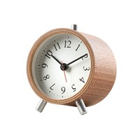Diamantini And Domeniconi Normal Alarm Clock Walnut