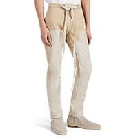 Fear Of God Patchwork Drawstring Work Pants Beige Tan