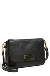 Marc By Marc Jacobs Lea Leather Crossbody Black