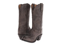 Lucchese Britton Anthracite Grey Cowboy Boots Gray