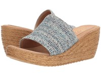 Sbicca Fairy Blue Multi Wedge Shoes