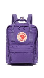 Fjall Raven Fjallraven Kanken Mini Backpack Purple