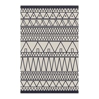 Hibernica Cyclades Triangles Vinyl Floor Mat Blue