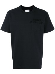 Sacai Oddy Knocky T Shirt Black