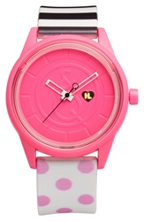 Harajuku Lovers Resin Solar Watch 40Mm Limited Edition Pop Art