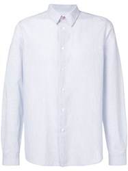 Paul Smith Ps Classic Long Sleeved Shirt Blue