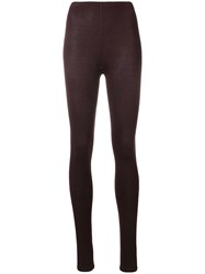 Majestic Filatures Stretch Fit Leggings Red