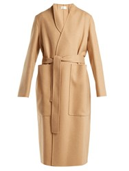 The Row Paret Double Faced Wool And Cashmere Blend Coat Camel