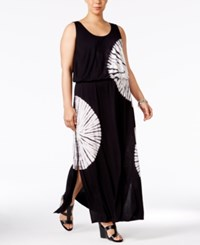 Inc International Concepts Plus Size Tie Dyed Maxi Dress Only At Macy's Day Dream
