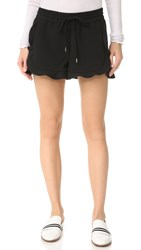 Carven Drawstring Shorts Noir