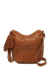 T Shirt And Jeans Perforated Hobo Brown