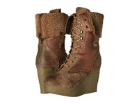 Sbicca Brisa Tan Women's Lace Up Boots