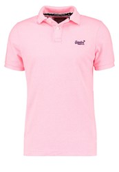 Superdry Polo Shirt Fluro Pink Neon Pink