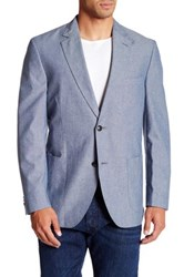 Kroon Bono 2 Two Button Notch Lapel Sport Coat Blue