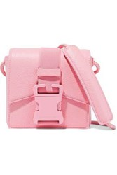 Christopher Kane Textured Leather Shoulder Bag Pink