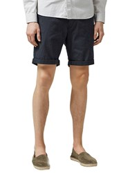 Selected Homme Paris Micro Dot Chino Shorts Dark Sapphire
