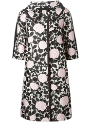 Antonio Marras Floral Applique Coat White