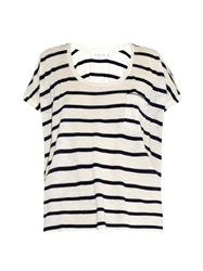 Velvet By Graham And Spencer Tiki Striped T Shirt