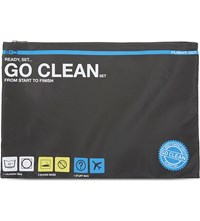 Flight 001 Go Clean Travel Set Charcoal