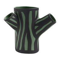 Hay Tree Trunk Vase Dark Green