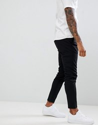 Only And Sons Slim Fit Trousers Black