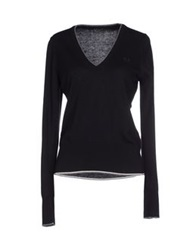Fred Perry Sweaters Black