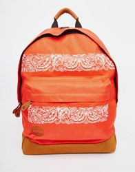 Mi Pac Mi Pac Backpack In Bandana Print Red
