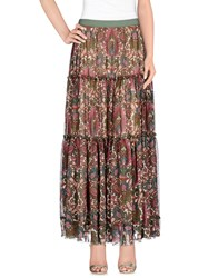 Adele Fado Queen Skirts Long Skirts Women Beige