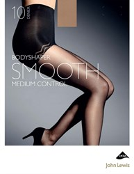 John Lewis 10 Denier Smooth Body Shaper Tights Nude