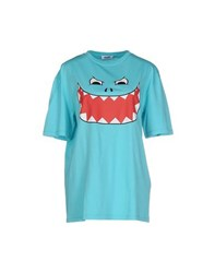 Moschino Cheap And Chic Moschino Cheapandchic Topwear T Shirts Women Turquoise