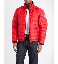 Canada Goose Lodge Quilted Shell Jacket Red Black