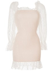 Alice Mccall After Dark Mini Dress White